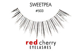 Red Cherry Eyelashes Sweetpea Style 503