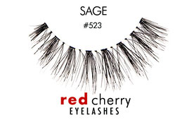 Red Cherry Eyelashes Sage Style 523