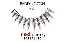 Red Cherry Eyelashes Paddington Style 42