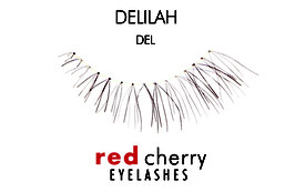Red Cherry Eyelashes Delilah Style DEL
