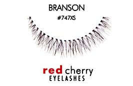 Red Cherry Eyelashes Branson Style 747XS