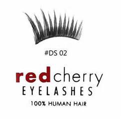 Red Cherry Eyelashes Sloan Style DS02
