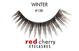 Red Cherry Eyelashes Winter Style 138