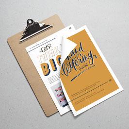 Handlettering Guide