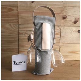 Tomaz Design - Wine Tote Bag Dotted