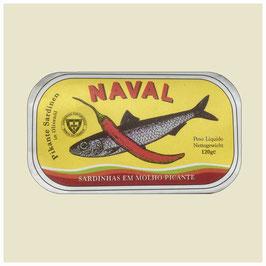 Naval - Sardinen pikant
