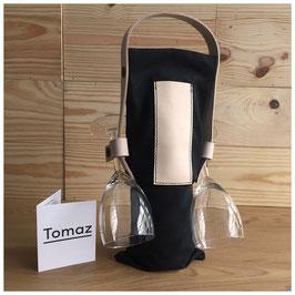 Tomaz Design - Wine Tote Bag Black