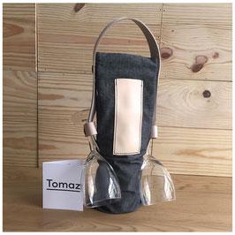 Tomaz Design - Wine Tote Bag Grey