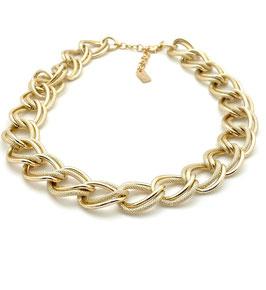 Halskette Chunky Aluminium gold Sergio Engel