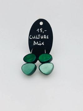 Ohrringe 4989 grün