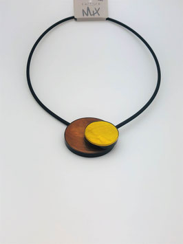 Halskette 4998 gelb Culture Mix