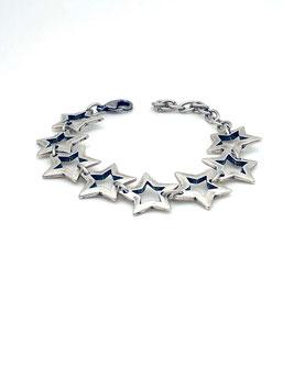 Zamak Armband kleine Sterne
