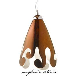 BAROCCO PENDANT LAMP Precious Metal Shiny OGIVE