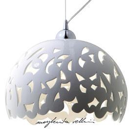 BAROCCO PENDANT LAMP White Shiny/Matte