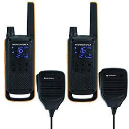 Motorola® Talkabout T82 Extreme - 2er-Set mit Faustmikrofon