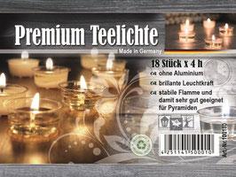 Cup candle Premium Teelichte