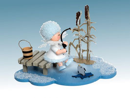Schneeflöckchen Eisangler