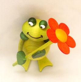 Freddy mit Blume