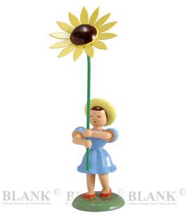 Blumenkind mit Sonnenblume