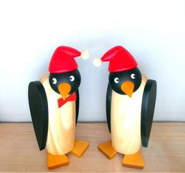 Pinguinpaar mit Mütze
