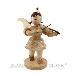 Engel mit Violine und Swarovski Elements