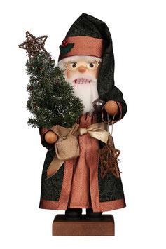 Weihnachtsmann mit Tannenbaum