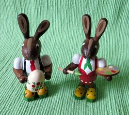 Hasenpaar Eiermaler