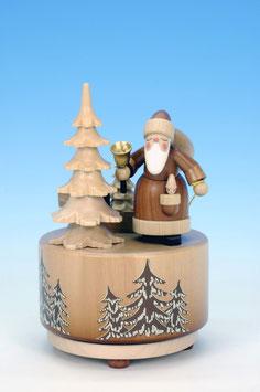 Spieldose mit Weihnachtsmann