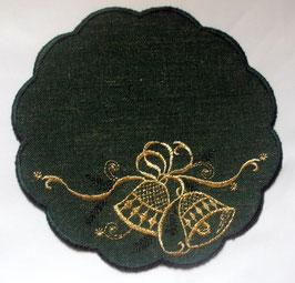 Deckchen mit Glocke
