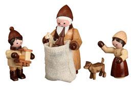 Weihnachtsmotiv-Bescherung