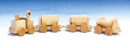 Sandbahn mit Anhänger