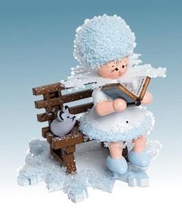 Schneeflöckchen als Geschichtenerzähler