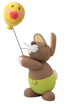 """Hase """"Holger"""" mit Ballon"""