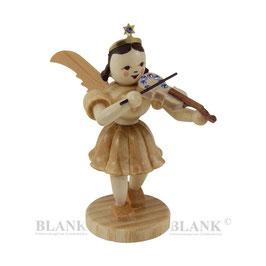 """Kurzrockengel """"Violine mit sieben saphirblauen Kristallen"""""""