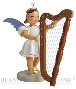 Kurzrockengel mit Harfe und Swarovski Elements