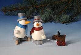 Otto mit Schlittschuh und Otto mit Elch