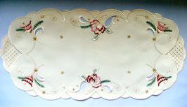 Deckchen mit Weihnachtsmotiv