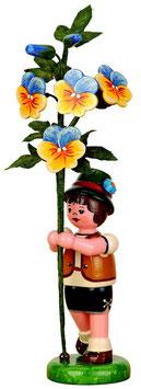 Blumenkind mit Hornveilchen