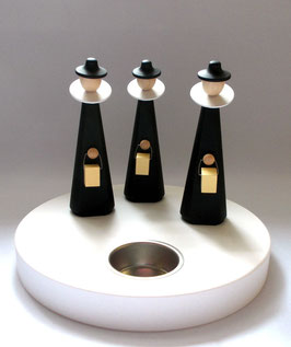 Kurrendefiguren auf Teelichthalter
