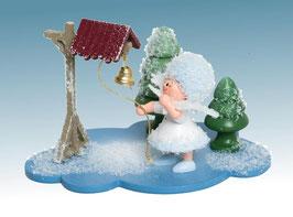 Schneeflöckchen mit Glocke
