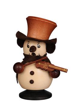 Schneemann mit Geige
