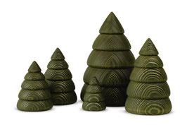 Bäume in verschiedenen Größen
