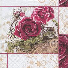"""Servietten """"Frozen Roses"""""""