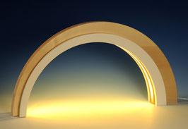 Holz-Design-LED-Bogen