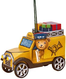 Teddy mit Postauto