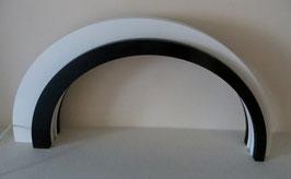 Holz-Design-LED Bogen, dunkel