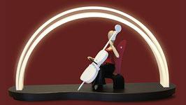 HI-MACS - LED - Bogen mit Volegebrettchen