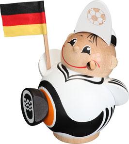Räucherfigur Fußballfan