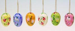 Ostereier mit Blumen- Motiven