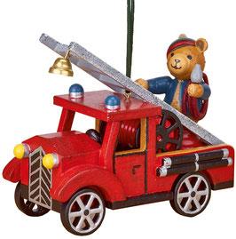 Teddy mit Feuerwehr